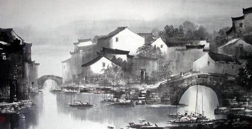 菊韵诗歌 文蕴诗语 故乡的原风景 江山文 高清图片