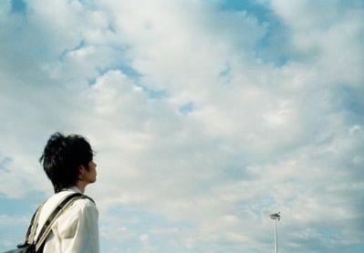 只是一个抬头仰望天空