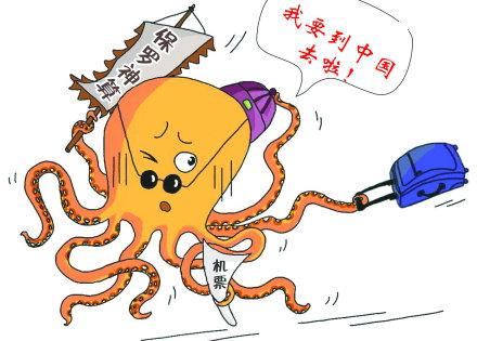 章鱼思维导图手绘