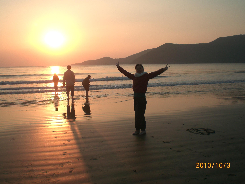 【诗人专栏■落英缤纷】海滩61假日 ————国庆檀头山岛记游