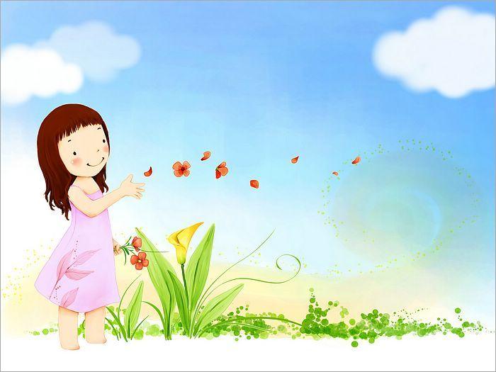 美丽的小女孩_江山文学网