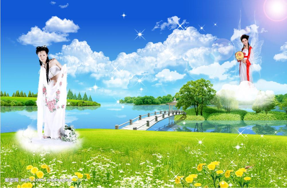 巫山一段云-梦春 - 绿茵 - 我的博客