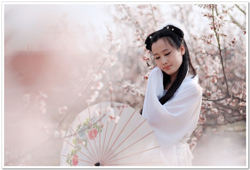 古装美女4; 四月杏花香;; 美女- 作品交流 - 佳友在线摄影网