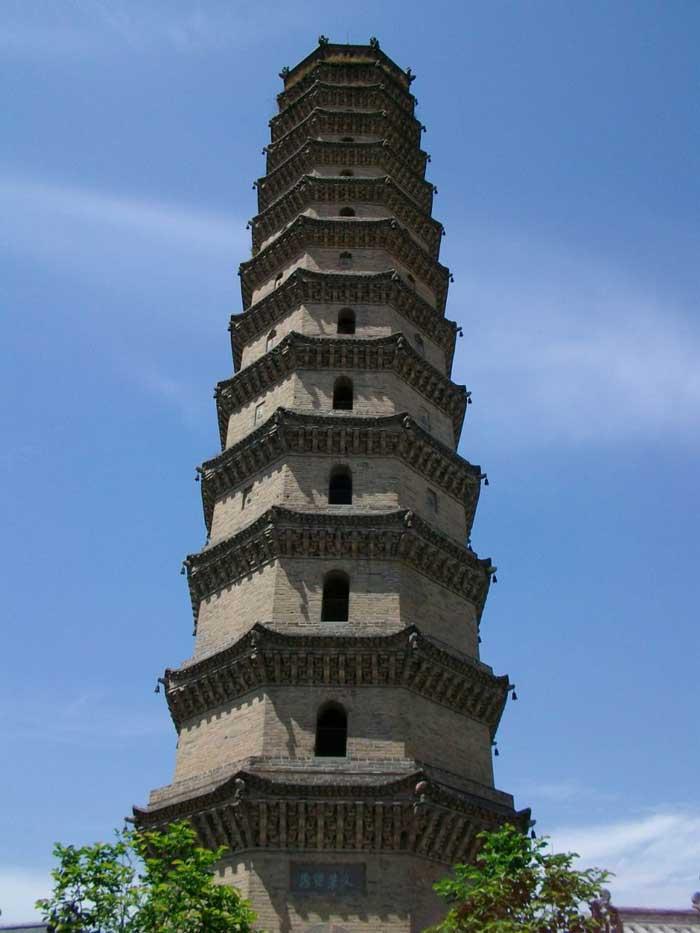 洛阳文峰塔图片