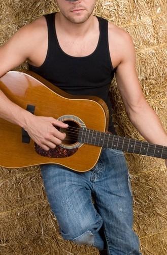 qq头像男生背影伤感背吉他