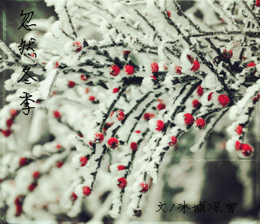 冬天很冷散文