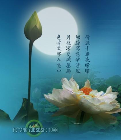 关于月色的诗句