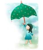 """【流年】念起,心欢喜(散文) ——写给好友""""下雨天图片"""