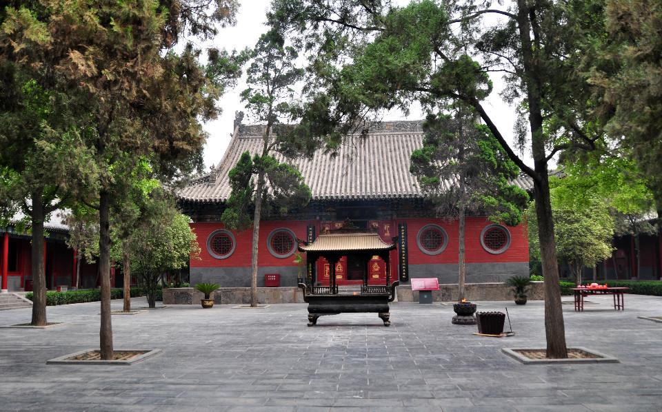 白马寺是我国第一座古刹