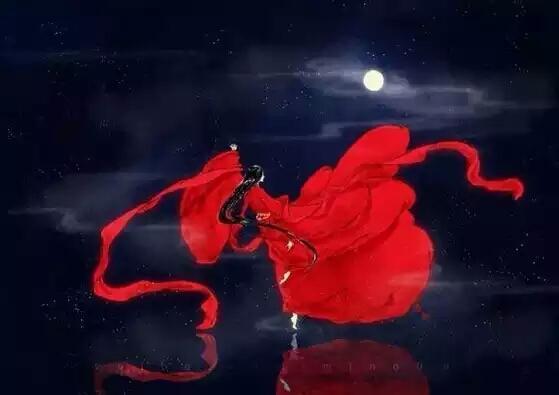月亮啊月亮舞蹈