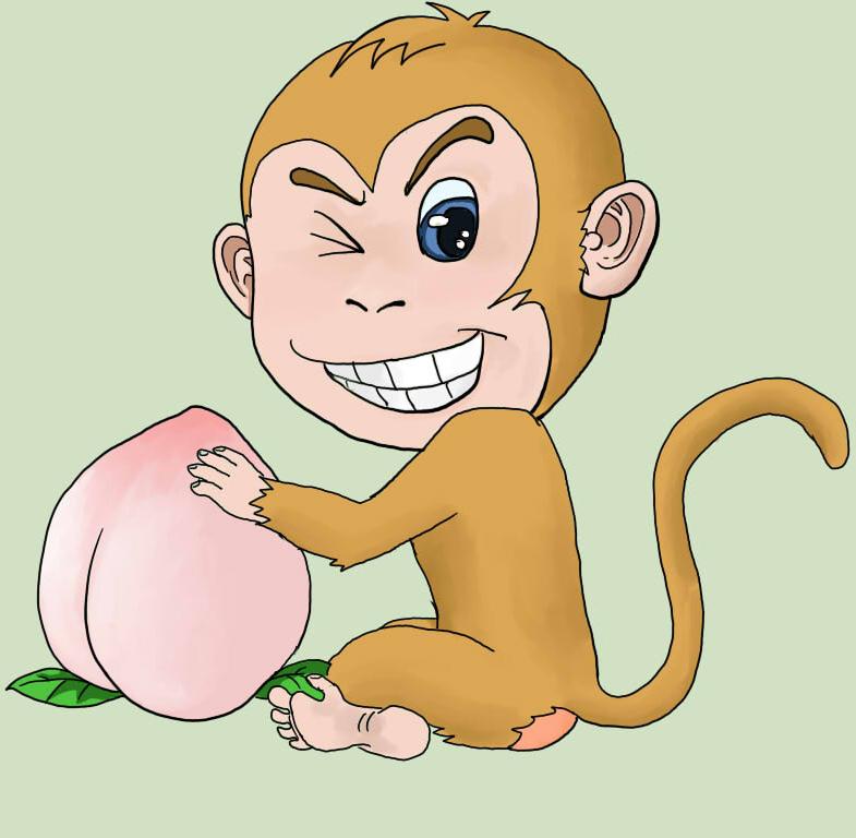在我的印象中,猴子是一种古灵精怪的动物,它们聪明,机灵,活泼好动