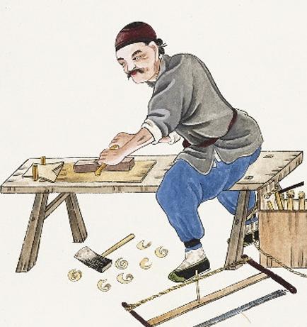 木工酒杯架图片