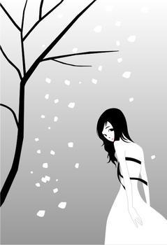 透明背景雪字头像
