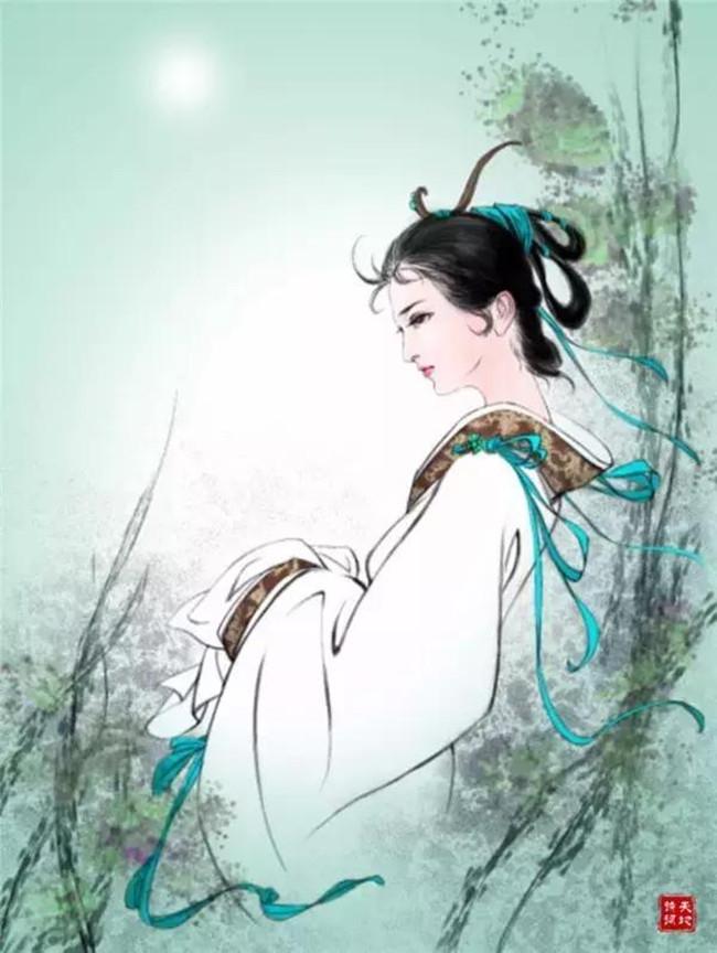 【八一】七绝·闺愁(古韵七首)