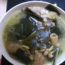 【菊韵】海带疙瘩炖猪脚(散文)