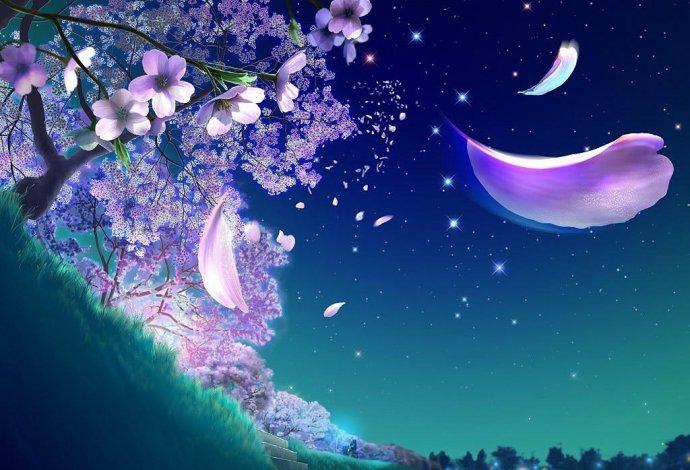 【云水】紫藤树下的爱情(微型小说)
