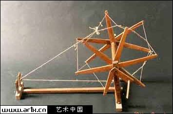 【晓荷】纺花车(散文)图片