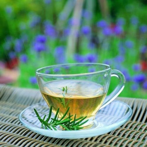 【军警】一杯茶饮尽夕阳(诗歌)