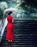 【荷塘】旗袍女人(散文)