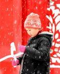 【星月·六年】瑞雪兆丰年·玩雪的孩子(古韵)卷帘体二组