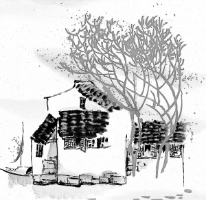 老树画画教师节