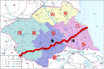 淮河地图全图高清版