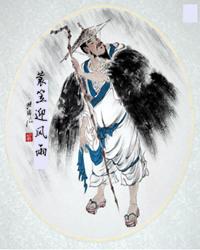 【看点】蓑衣迎风雨 ,桃花慰心神(散文)
