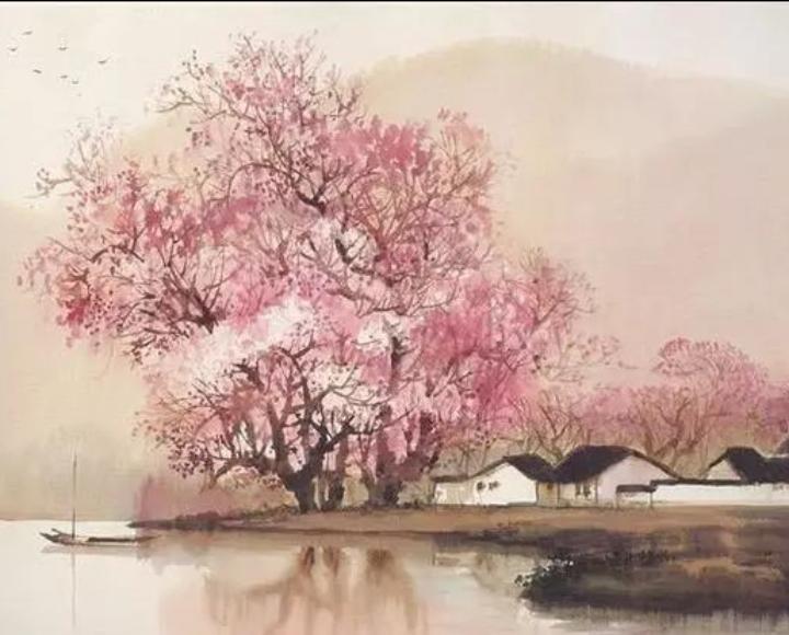 【八一】桃花系列(组诗·家园)