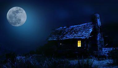 怀抱月亮qq头像意境图