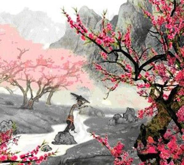 【八一】七绝·落花诗(古韵七首·家园)