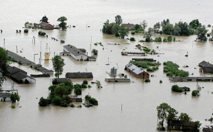 【看点·春韵】洪水淹没我的家园(小说)