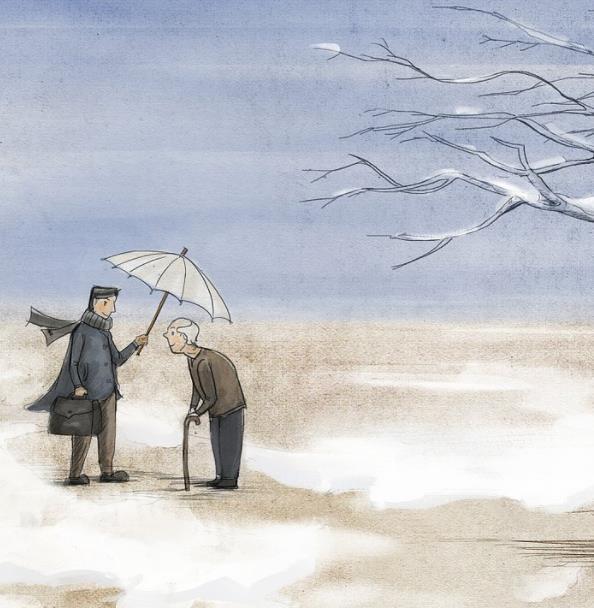 【流年】大雪将至(散文)
