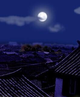 【流年】村庄的圆月亮(岁月征文·散文)