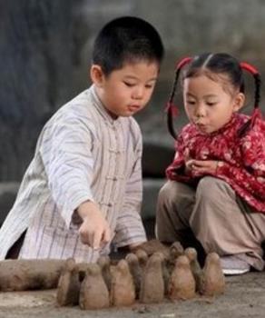 【流年·那年花开月正圆】泥做的童年(征文·散文)