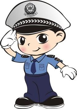 警察叔叔来上课(记叙文)