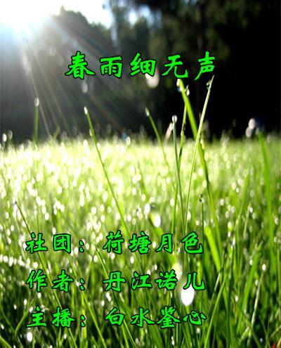 春雨细无声(散文)