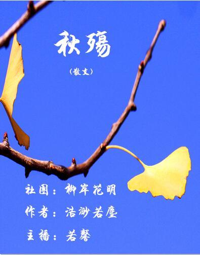 秋殇(散文)