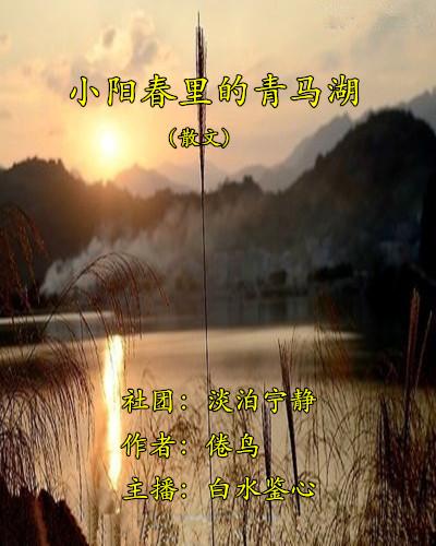 小阳春里的青马湖(散文)