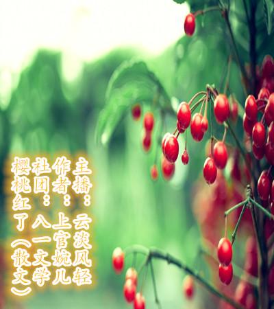 樱桃红了(散文)