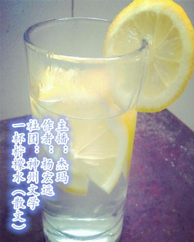 一杯柠檬水(散文)